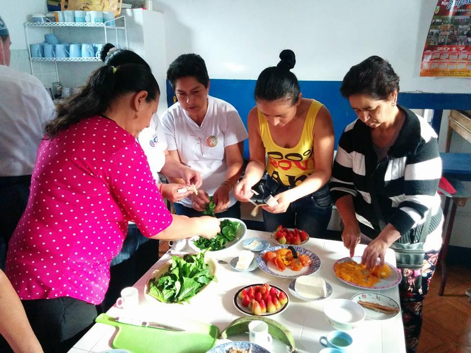 taller practico de cocina